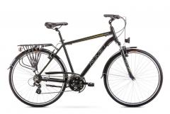 Velosipēds Romet Wagant 1 2020 black-orange Touring (ATB) velosipēdi