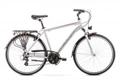 Velosipēds Romet Wagant 1 2020 silver-red Touring (ATB) velosipēdi