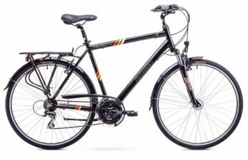 Dviratis Romet Wagant 2 2018 black 23 Touring bikes (atb)
