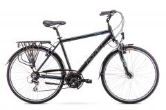 Velosipēds Romet Wagant 2 2019 black Touring (ATB) velosipēdi