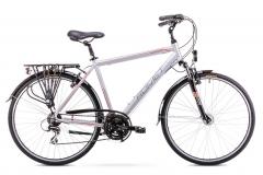 Dviratis Romet Wagant 2 2019 silver M(19) Touring bikes (atb)