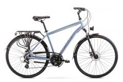 Velosipēds Romet Wagant 2 2020 silver-blue M(19) Touring (ATB) velosipēdi