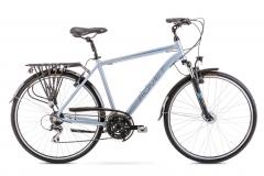 Velosipēds Romet Wagant 3 2020 silver-blue M(19) Touring (ATB) velosipēdi