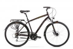 Velosipēds Romet Wagant 4 2020 brown-gold Touring (ATB) velosipēdi