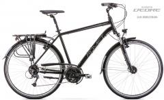 Dviratis Romet Wagant 7 2020 black-grey Turistiniai (ATB) dviračiai