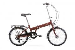 Dviratis Romet Wigry 20 1 2020 brown Sulankstomi dviračiai