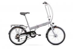 Dviratis Romet Wigry 20 1 2020 silver Sulankstomi dviračiai