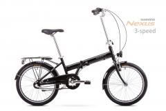 Dviratis Romet Wigry 3 2019 black-silver Sulankstomi dviračiai