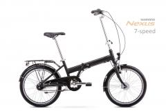 Dviratis Romet Wigry 4 2019 black-grey Sulankstomi dviračiai