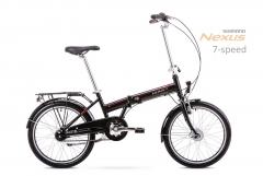 Dviratis Romet Wigry 4 2019 black-red Sulankstomi dviračiai