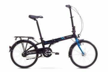 Dviratis Romet Wigry 8 2017 black-blue Sulankstomi dviračiai