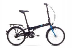 Dviratis Romet Wigry 8 2017 black-blue Folding bikes
