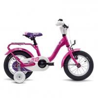 Velosipēds Scool niXe alloy 1 speed- pink 12 Velosipēdi bērniem