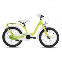 Dviratis Scool niXe steel1 speed- yellow/green 16 Dviračiai, triračiai vaikams