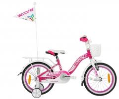 Dviratis SCORE Flavi 20 pink-white Bikes for kids