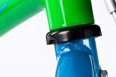 Dviratis SCORE Milo 14 green-blue Bikes for kids