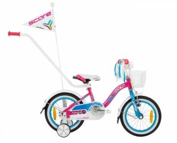 Dviratis SCORE Nana 12 pink-blue Dviračiai, triračiai vaikams