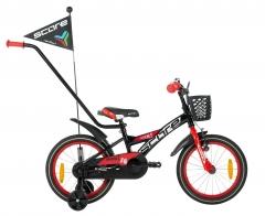 Dviratis SCORE Nick 16 black-red Bikes for kids