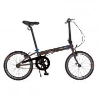 Dviratis sulankstomas Speed Uno YS7365 HiTen brown grey 20 Sulankstomi dviračiai