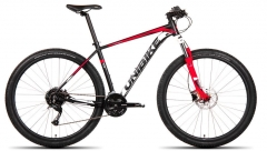 Dviratis UNIBIKE Shadow 29 2019 black-red