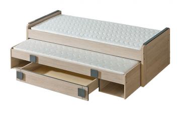Dvivietė lovytė G16 Furniture collection gumi