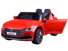 Dvivietis elektromobilis Volkswagen Arteon,juodas Automašīnas bērniem