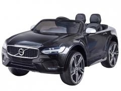 Dvivietis elektromobilis Volvo S90, juodas Automobiliai vaikams