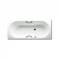 Dyna Set vonia 150X75X43cm su skylėmis rankenėlėms. Vonios