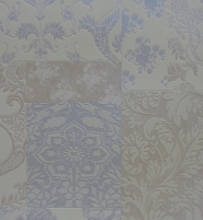 E81507 10,05x0,53 m wallpaper, blue ornamentai, kl.M.Vlies