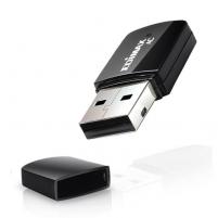 Edimax AC600 Dual Band 802.11ac USB tiny adapter, 2,4+5GHz, HW WPS Mobilās ierīces