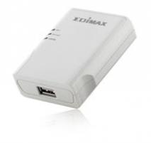 Edimax Print Server 1xUSB 2.0, 1x10/100Mbps Printeru piederumi