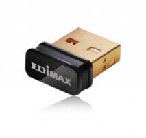 Edimax Wireless nano USB 2.0 adapter, 802.11n 150Mbps, SW WPS