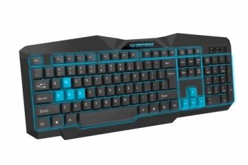 EGK201B ESPERANZA TIRIONS - Žaidimų klaviatūra / Klaviatūros su apšvietimu USB