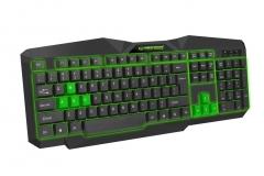 EGK201G ESPERANZA TIRIONS - Žaidimų klaviatūra / Klaviatūros su apšvietimu USB