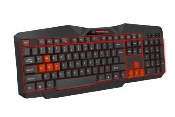 EGK201R ESPERANZA TIRIONS - Žaidimų klaviatūra / Klaviatūros su apšvietimu USB