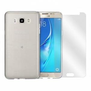Ekrano apsauga Pack Full Protect Galaxy J5 2016 TPU+Glass