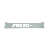 Elastinės juostos kilpa Proud Mini Band Professional 0.5mm 1/3 (lengvas) Juostos mankštai