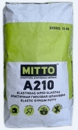 Elastic gypsum putty MITTO A210 15kg Grouts/putty