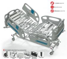 Elektrinė funkcinė lova FBE-P, F8 - ratukas su krypties užraktu