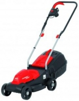 Electric lawn mower 1200W Grizzly ERM 1231 G, EK9 Trimmer, lawnmowers