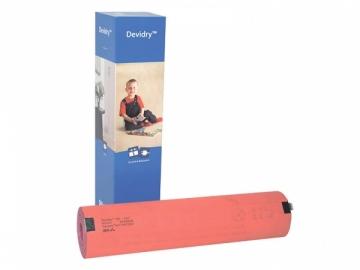 Elektrinio šildymo kilimėlis DEVI Devidry-100 1x1m 40W