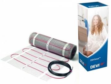 Elektrinio šildymo kilimėlis DEVI DTIF-150 0.5x5m 375W