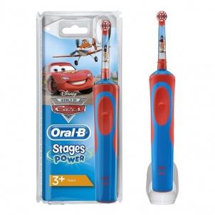 Elektrinis dantų šepetėlis Braun D12.513 Kids Laste Cars