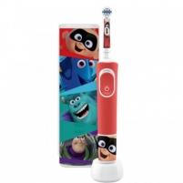 Elektrinis dantų šepetėlis vaikams ORAL B Vitality D100 Kids Pixar su kelioniniu dėklu Elektriniai dantų šepetėliai