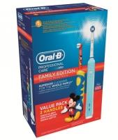 Elektrinis dantų šepetukas Braun Oral-B Family Edition 500+ Kids Mickey Mouse Elektriniai dantų šepetėliai