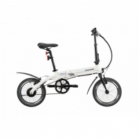 Elektrinis dviratis Blaupunkt Carla 190, 250 W, 16, 25 km/h, Arctic-White Electric bicycles