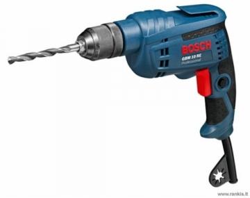 Elektrinis gręžtuvas Bosch GBM 10 RE Professional Electric drills screwdrivers