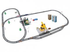 Elektrinis krovininis traukinys su bėgiais 4 + Geležinkelis vaikams