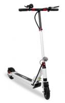 Elektrinis paspirtukas EMScooter Urban X1 Baltas, sulankstomu korpusu Paspirtukai vaikams ir suaugusiems