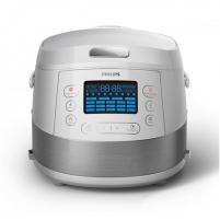 Elektrinis puodas Philips Multicooker HD4731/70 White, Number of programs 19+ pre-set programs, 5 L Elektriniai puodai